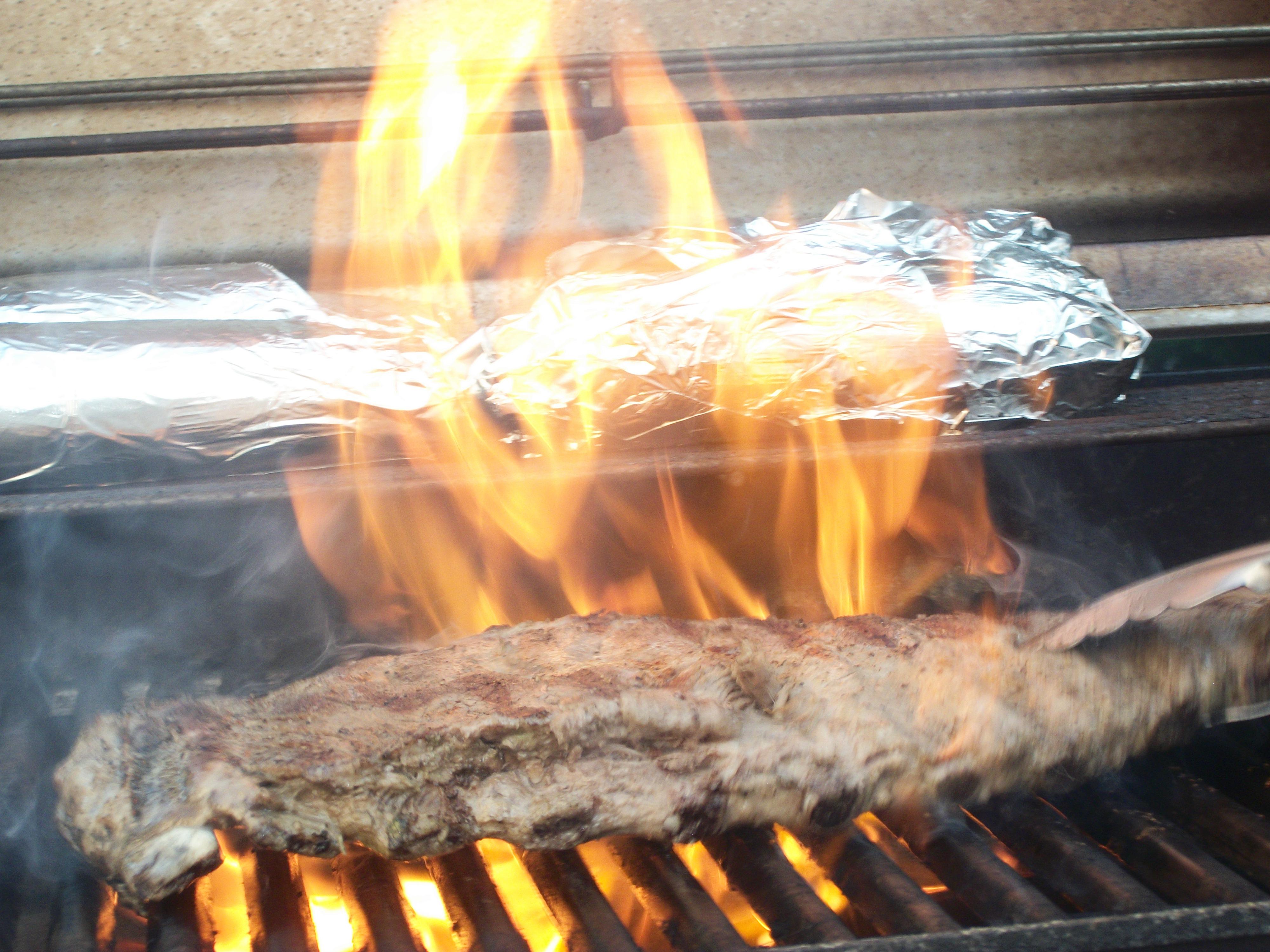 Aug 20 Dinner–Ribs