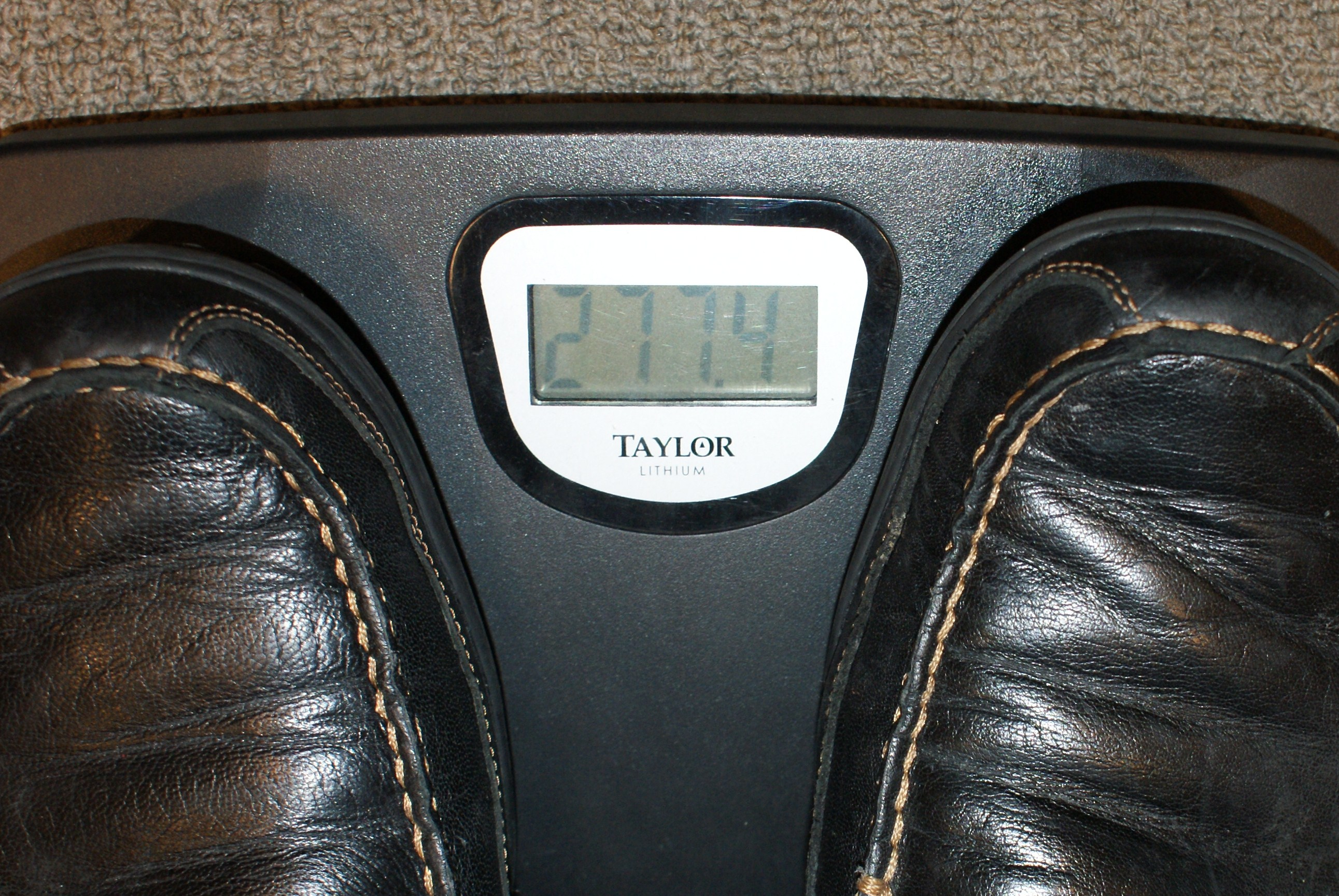 Chef's Diet Scale (Before)