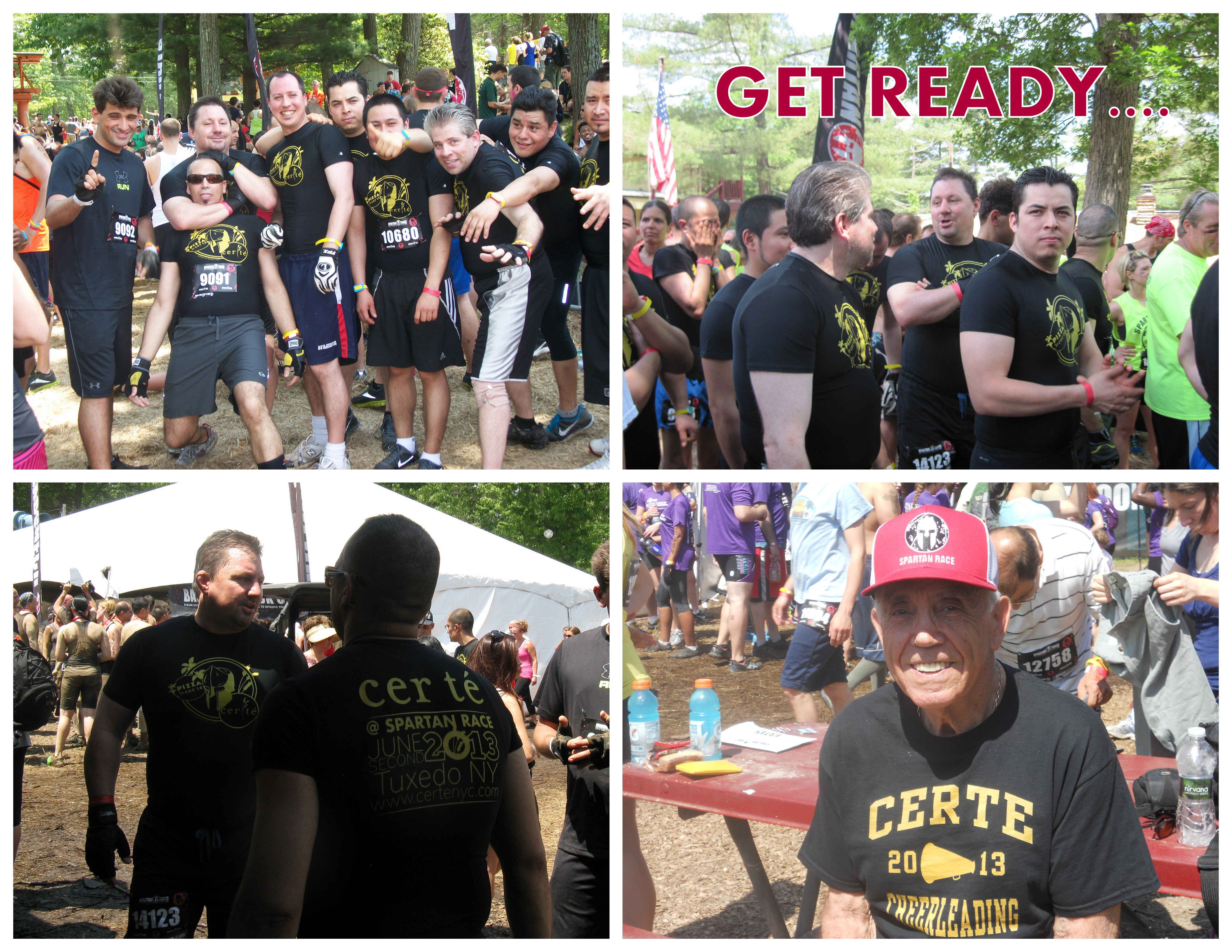 Spartan Race 2013. Collage.GET READY...
