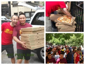 NYC Pizza Run 2013