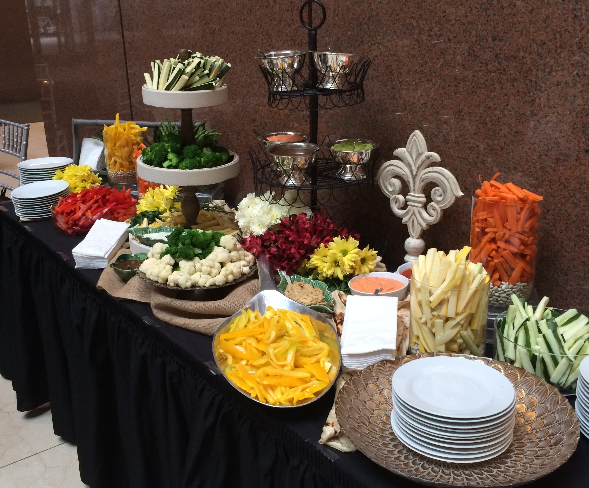PR Awards.Crudite Station