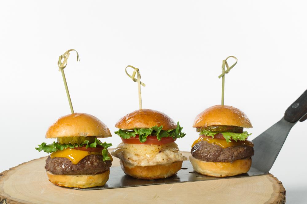 Certe' Picnic.Assorted Burgers