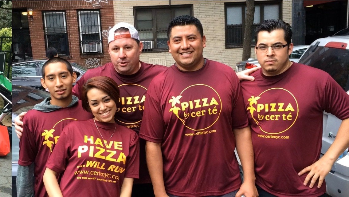 NYC Pizza Run.2014